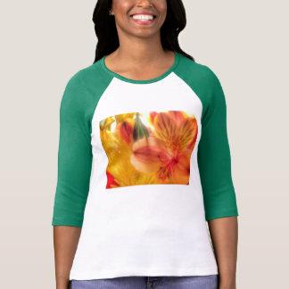 Tigerlilie Raglan-Shirtdamen T-Shirt