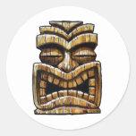 Tiki Man Sticker