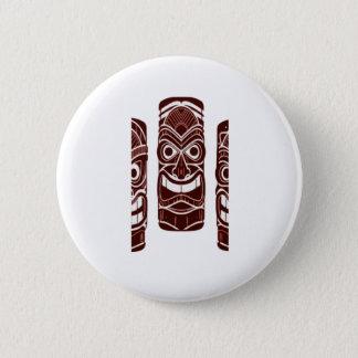 Tiki Zeit Runder Button 5,1 Cm