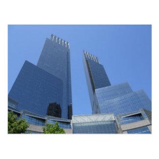 Time Warnermittelpostkarte Manhattan New York Postkarte