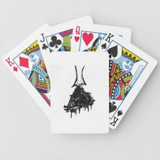 Tinten-Samurais 1 Bicycle Spielkarten