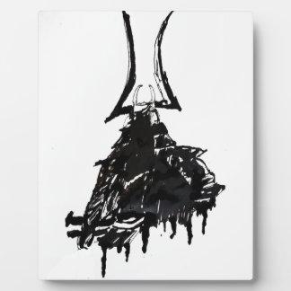 Tinten-Samurais 1 Fotoplatte