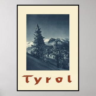 Tirol Österreich Poster