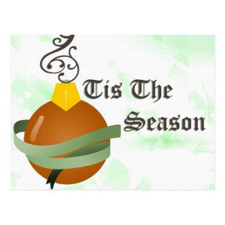 Tis die Jahreszeit Postkarte