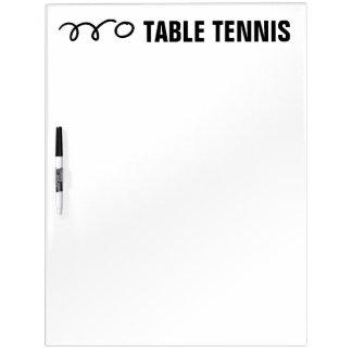 Tischtennis-Anzeigetafel und Ausbildungsanlageen Memoboards