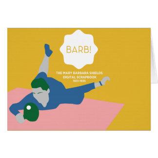Tischtennis Barb Karte