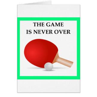 Tischtennis Karte