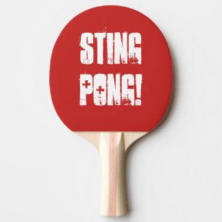 """Tischtennis-Paddel """"Stings Pong"""" Tischtennis Schläger"""