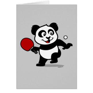 Tischtennis-Panda Karte