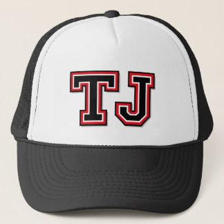 """TJ"" Monogramm Truckerkappe"