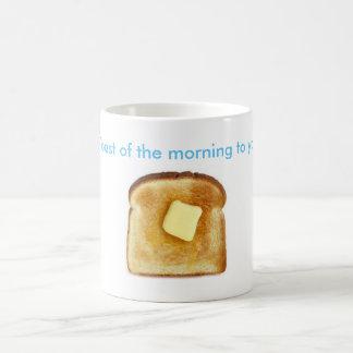 Toast des Morgens zum ya! Tasse
