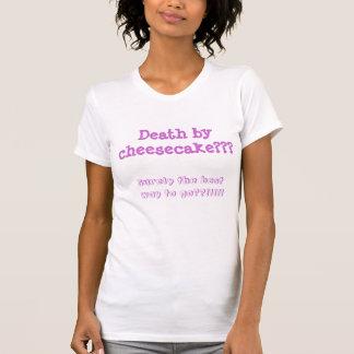 Tod durch Käsekuchen T-Shirt