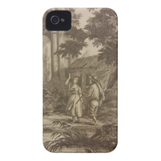 Toile Bauer-Szene iPhone 4 Cover