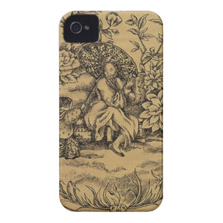 Toile - Taupe Case-Mate iPhone 4 Hülle