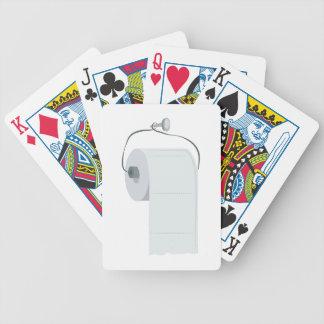 Toilettenpapier Pokerkarten