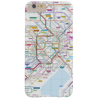 Tokyo-Karte Barely There iPhone 6 Plus Hülle