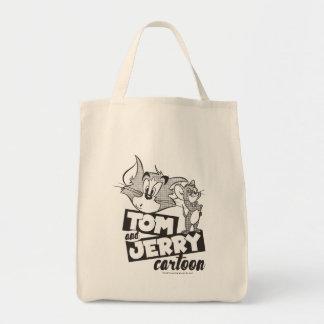 Tom und Jerry   Tom und Jerry-Cartoon Einkaufstasche