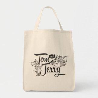 Tom und Jerry   Tom und Jerry, der süß schaut Einkaufstasche