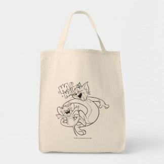 Tom und Jerry   Tom und Jerry-Lachen Einkaufstasche