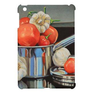 Tomate-Pfeffer-Knoblauch-Gemisch iPad Mini Hülle