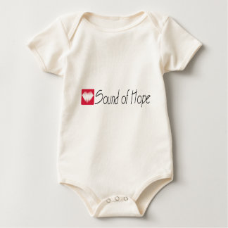 Ton des Hoffnungs-Lichtes Baby Strampler