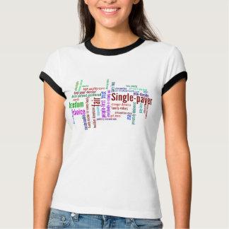 Ton-Shirt der Wort-Wolke zwei T-Shirt