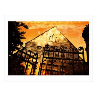 Tor zum Haus Postkarte