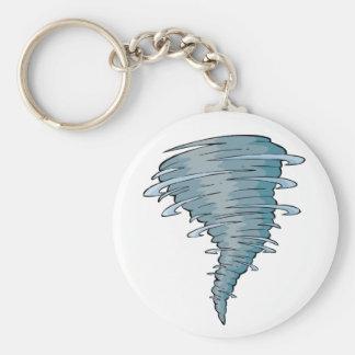 Tornado Keychain Standard Runder Schlüsselanhänger