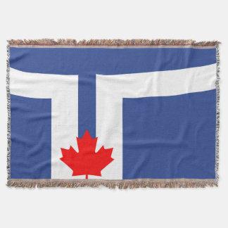 Toronto-Stadtflaggen-Kanada-Symbol Decke