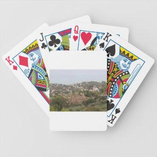Torremolinos-Ansicht-Strecke - Spanien Bicycle Spielkarten