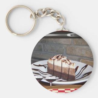 Torte Standard Runder Schlüsselanhänger