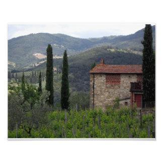 Toskanisches Bauernhaus Fotografien