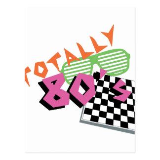 Total Achtzigerjahre Postkarte