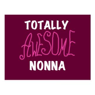 Total fantastische Nonna rosa T - Shirts und Postkarte