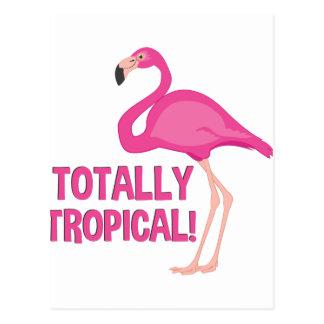 Total tropisch postkarte