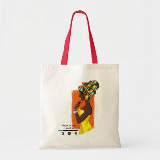 Tote Bag African Queen Tragetasche