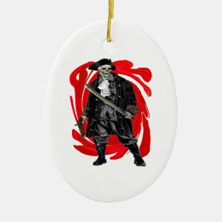 Tote Männer erzählen keine Geschichten Keramik Ornament