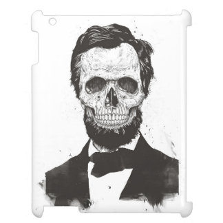 Totes Lincoln (Schwarzweiss) iPad Hülle