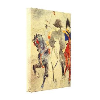 Toulouse-Lautrec - Napoleon 2 Galerie Falt Leinwand