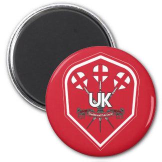 Traditionelle Kneipen-Spiele Brasiliens Runder Magnet 5,7 Cm