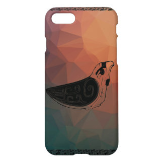 Traditioneller bunter Vogel iPhone 8/7 Hülle