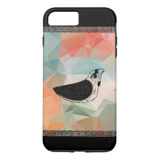 Traditioneller Vogel iPhone 8 Plus/7 Plus Hülle