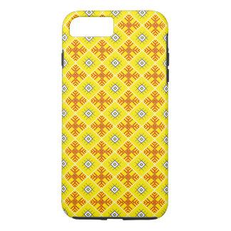 Traditionelles slawisches Verzierungen iPhone iPhone 8 Plus/7 Plus Hülle