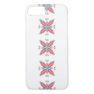 traditionelles Symbol Rumänienvolksmotivs ethnisch iPhone 8/7 Hülle