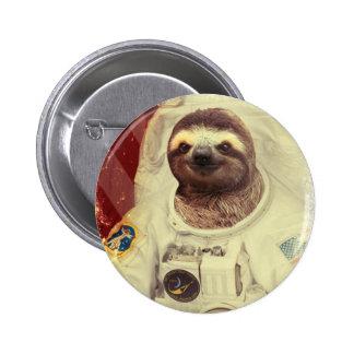 Trägheits-Astronauten-Knopf Runder Button 5,1 Cm