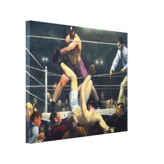trägt Vintage Kunst 30x24 Verpacken-Leinwand 1924  Galerie Falt Leinwand