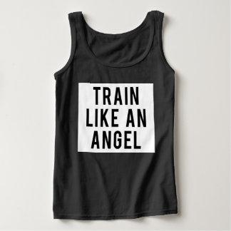 Train Like An Angel Tank Top