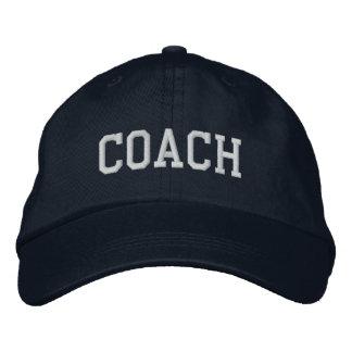 Trainer gestickte Baseball-Mütze/Kappe - Marine Besticktes Baseballcap