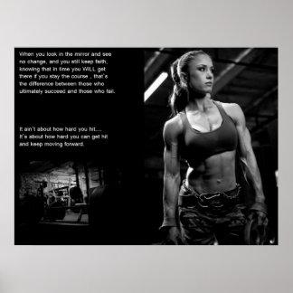 Trainings-Motivation Poster