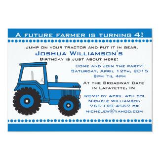 Einladungskarten geburtstag landwirt